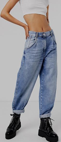 """Cómo armar diferentes looks con pantalones """"slouchy"""" 5"""