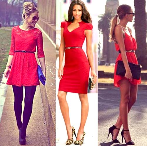 Consejos para llevar outfits en color rojo 7