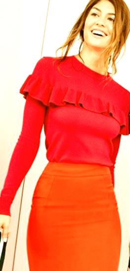 Consejos para llevar outfits en color rojo 1