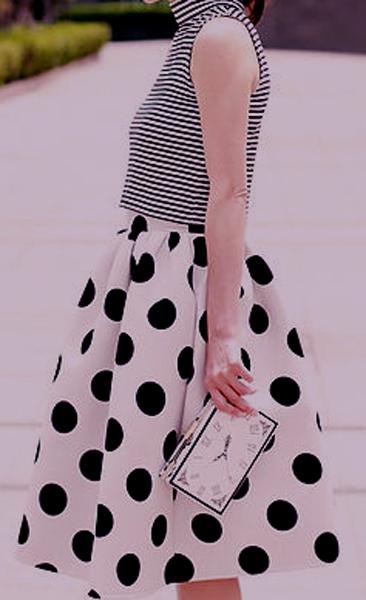 Distintas maneras de combinar prendas estampadas 6