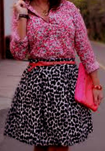 Distintas maneras de combinar prendas estampadas 9