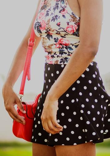 Distintas maneras de combinar prendas estampadas 8