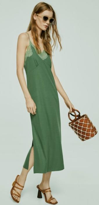 El vestido lencero: un infaltable para el verano 1