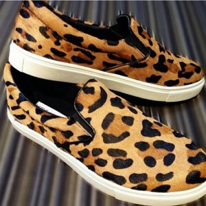 Fashion-Leopard-Skateboard-Shoes-Round-Toe-Slip-On-Sneakers-Genuine-Horsehair-Comfortable-Loafers-Flat-Shoes