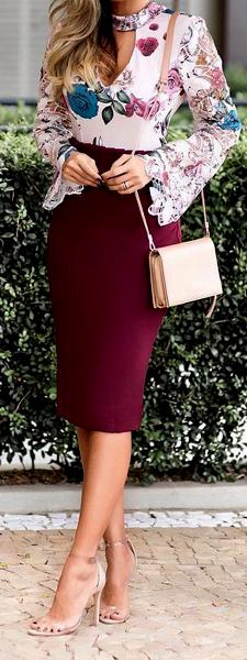 Ideas para usar faldas tubo 8