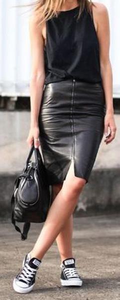 Ideas para usar faldas tubo 3