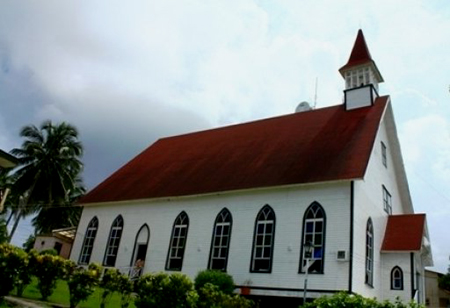 Iglesia_isla de san andrés_Colombia