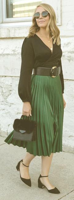 Las mejores combinaciones para faldas midi 4