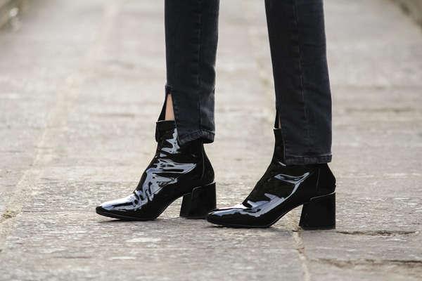 Maneras de usar botines sin acortar las piernas 4