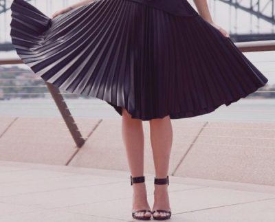 Maneras de usar faldas con vuelo 1