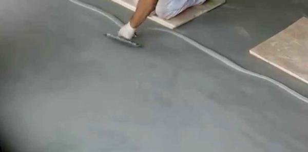 Microcemento o cemento alisado