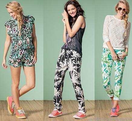 Nucleo Moda primavera verano 2015 monos y pantalones
