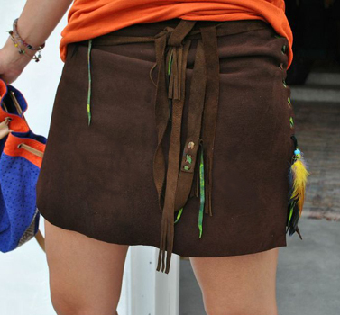 Oclock-suede-skirt-brown-Ibiza-Trendy