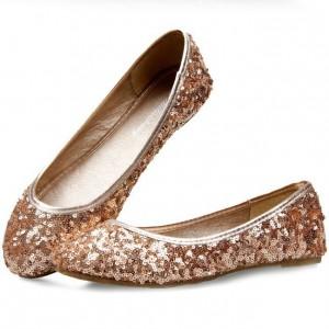 Plus-size35-41-2013-summer-luxury-ballerina-girls-gold-silver-glitter-ballet-flats-womens-ladies-dress