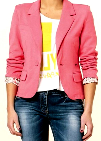 Maneras de combinar prendas color rosa 1