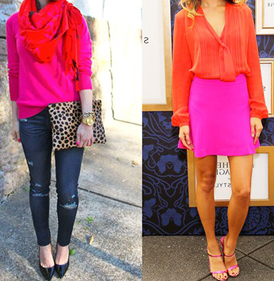 como combinar prendas en color rosa_3