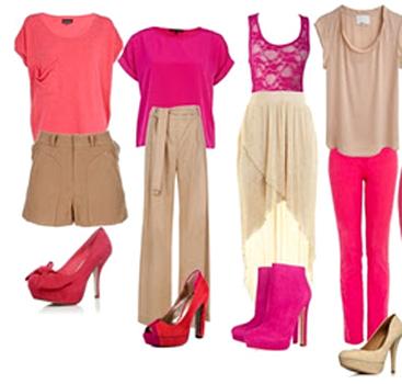 como combinar prendas en color rosa_4