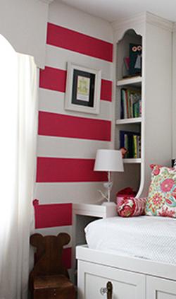 como usar las franjas para decorar ambientes