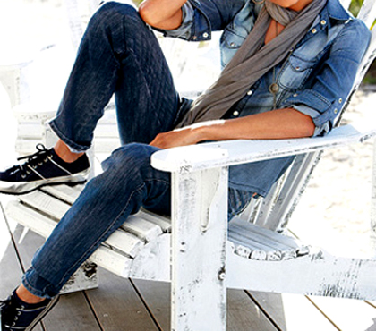 diferentes looks para armar con jeans