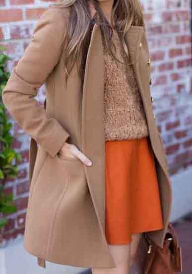 el color camel marcará tendencia este otoño e invierno 2016