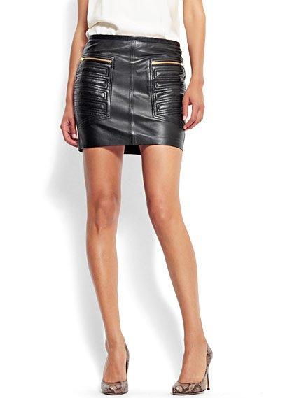 falda-cuero-mango – Tendencias de moda y temporada d04b6610df87