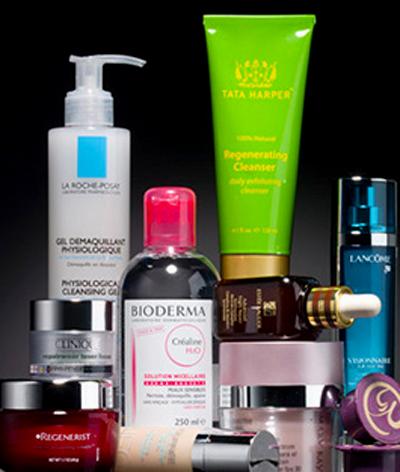 ingredientes y activos de los productos de belleza