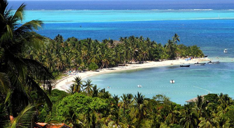 La isla de San Andrés, Colombia 1