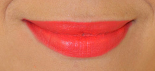 labios mate anaranjados