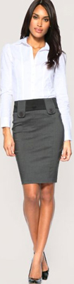look-oficina-falda-lapiz