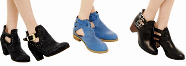 maneras de usar botas cut-out