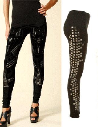 maneras de usar las leggings gráficas 2
