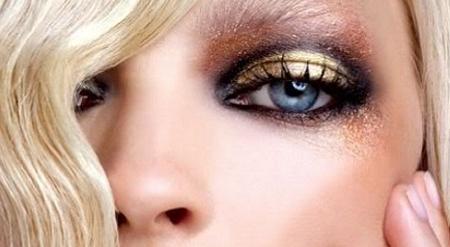 maquillaje-dorado-para-fiesta