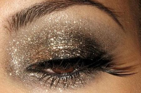 maquillaje glitter