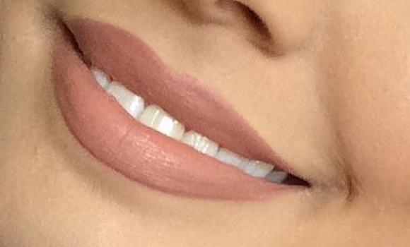 pintarse los labios color mate