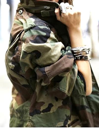 prendas estilo militar 78