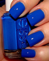 Uñas Azul Eléctrico Tumanas Style En Tendencia